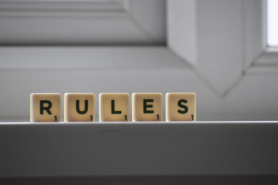 Rules for choosing a domain name